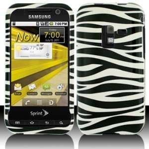 Samsung D600 Conquer 4G Black White Zebra Case Cover Protector (free