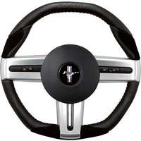 05 09 Mustang Grant Roush Leather Steering Wheel Suede