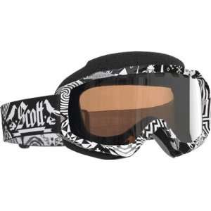 Scott USA Hustle Snow Cross Goggles , Color Voodoo/Silver Lens 217784
