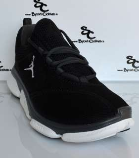 Jordan RCVR mens training running black white shoes