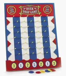 WOODEN DISK DROP GAME PLINKO STYLE/New Carnival/Birthday Party