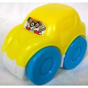 Happy Meal 3 Yellow Mattel Fisher Price Car Vehicle Toy Toys & Games
