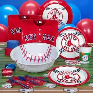 Boston Red Sox Baseball Deluxe Party Pack for 18 Toys