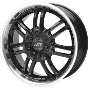 American Racing Haze 17x7.5 Black Wheel / Rim 5x112 with a 45mm Offset
