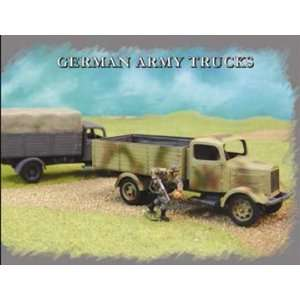 Pegasus Hobby 1/72 German Army Trucks Model Kit Toys