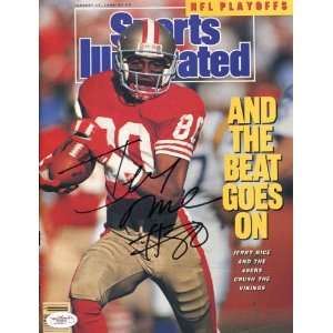 Jerry Rice Autographed Jan. 5, 1990 Sports Illustrated
