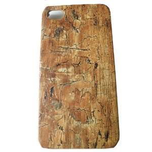 Iphone Case Cover Back Plate Old Wood Print Grain for Iphone 4 / 4s