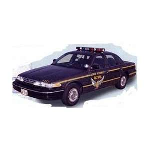 72713 Lindberg 1/25 96 FORD CROWN VIC STATE PATROL Toys