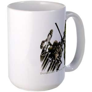 Drink Cup Army US Military Defenders Of Our Freedom