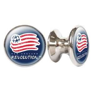 New England Revolution MLS Stainless Steel Cabinet Knobs