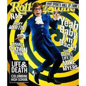 Mike Myers, 1999 Rolling Stone Cover Poster by Mark