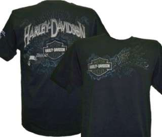 Harley Davidson Las Vegas Dealer Tee T Shirt BLACK MEDIUM #TSX