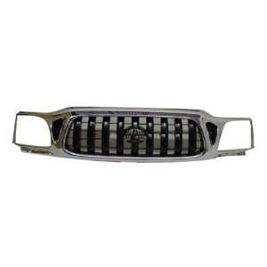 01 04 02 03 TOYOTA TACOMA PICKUP CHROME GRILLE NEW