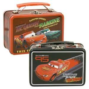 Disney Pixar Cars Lightning McQueen & Ramone Small Embossed Lunch Box