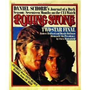 Rolling Stone Cover of Robert Redford & Dustin Hoffman