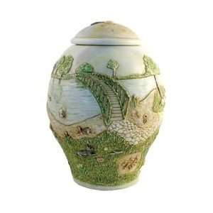 Harmony Ball Rainbow Bridge DOG Cachepot  A Beautiful Urn