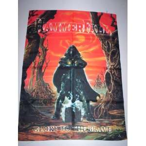 HAMMERFALL 42x30 Inches Cloth Textile Fabric Poster
