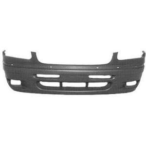 TKY CR04007BA MT5 Chrysler Town & Country Primed Black Front Bumper