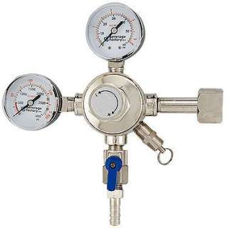 Series Commercial Grade Dual Gauge Co2 Keg Beer Kegerator Regulator