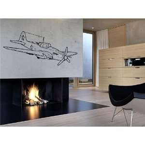 Aircraft Il 2 Wall Decor Vinyl Decal Sticker D 209