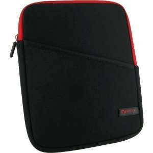 Super Bubble RC UNIV IPAD BK RD Carrying Case (Sleeve) for iPad