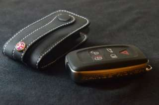 leather Key Fob Range Rover Land Rover Evoque Discovery 4 Keyfob