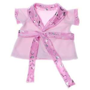Pink Shimmer Lingere Robe Teddy Bear Clothes Outfit Fit 14