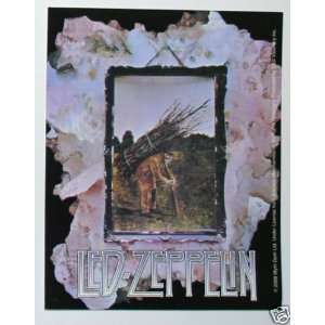 Led Zeppelin band Four STICKER rock music