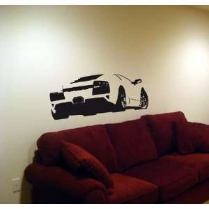 Wall Vinyl Sticker Car 06 Lamborghini Murcielago 002