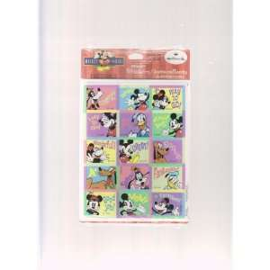 Disney Mickey Mouse Teacher Reward Stickers ; 8 sheets