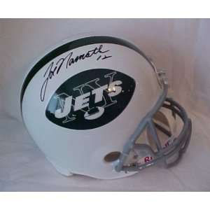 Joe Namath Hand Signed Autographed Full Size New York Jets