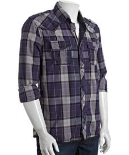 Mens Plaid Cotton Shirt    Gentlemen Plaid Cotton Shirt, Male