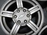 Four 04 07 Chevy GMC Colorado Canyon Factory 17 Wheels OEM Rims 5184