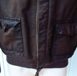 Ralph Lauren mens brown leather A2 bomber jacket small $995 Polo nwt