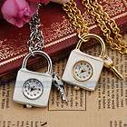 Fashion Cute Gold/Siver Lock+Key+Chain Sweater Dress Decorative Lady