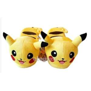 Nintendo Pokemon Pikachu 9 Kids Plush Slipper Everything