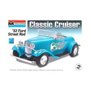 85 0882 Monogram 1/24 32 Ford Street Rod Toys & Games