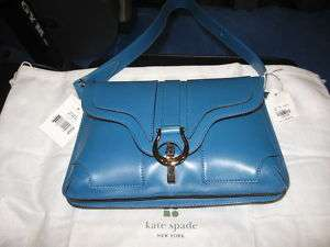NEW NWT KATE SPADE SMALL GAVIN SUTTON BLUE HANDBAG
