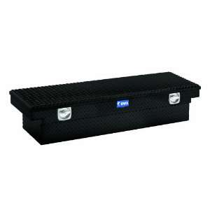 BLK Black 69 Single Lid Crossover Truck Box with Secure Lock Handles