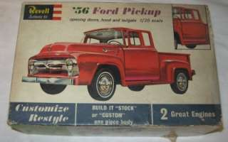 Revell 1/25 56 Ford Pickup Truck Model Kit # H 1283