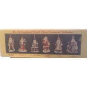 The International Santa Claus Ornament Collection
