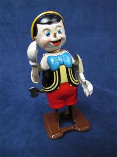 1950s Marx Linemar Disney Pinocchio Tin Wind Up Toy