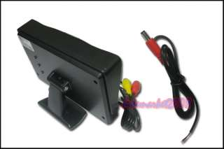 TFT LCD Car Reverse Monitor DVD VCR CCTV Camera