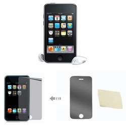 iPod Anti fingerprint Anti glare Screen Protector for Touch 2/ 3
