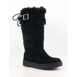 Bearpaw Siren 2 Womens Black Snow Boots