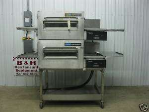 Lincoln Impinger Double Deck Electric Conveyor 18 Belt Pizza Oven 06