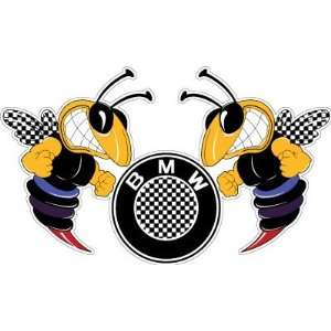 BMW M Bee Sport Racing Car Bumper Sticker Decal 6x3.5