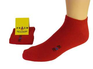 PRASM Mens Low Cut Ankle Sock Golf Sport Gym Casual   Brown Color #002