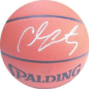 Carmelo Anthony Autographed Denver Nuggets Basketball