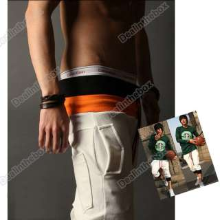 New Fashion Mens Casual Cool Sport Rope Short Pants Jogging Trousers